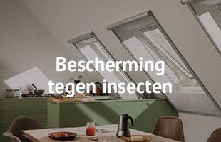 VELUX Raamdecoratie - Bescherming tegen insecten - Timmerbedrijf de Groot - Mobiel